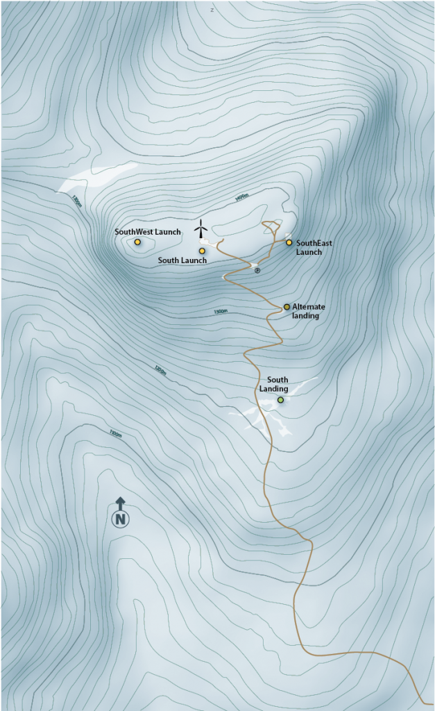Haeckel Hill Map