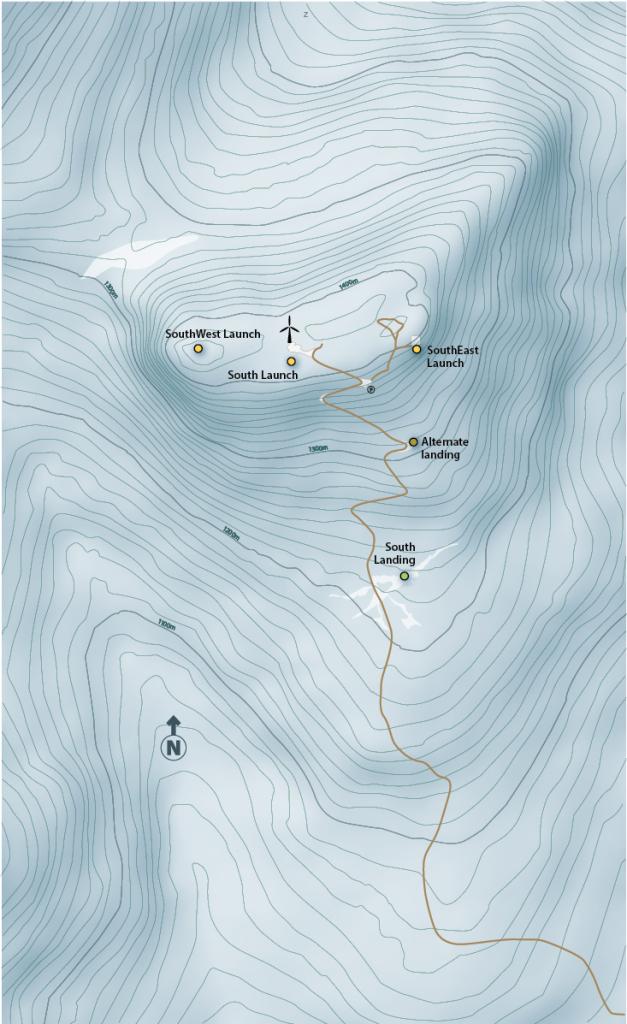 Haeckel Hill Map
